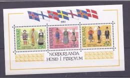 FaroeIslands1983: Michel Block1 Mnh** - Féroé (Iles)