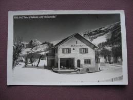 CPA PHOTO 73 VALLOIRE En Hiver LES CARETTES RARE 1937  Canton SAINT MICHEL DE MAURIENNE - Otros Municipios