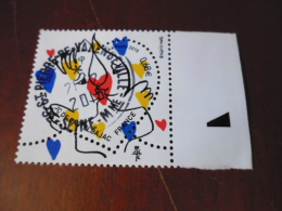 OBLITERATION RONDE  SUR TIMBRE GOMME ORIGINE YVERT N°4924 - Frankreich