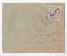 1929 HONDURAS ´ 1929 - 1930´ OVPT 6c  Stamps COVER To USA - Honduras