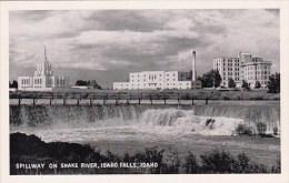Spillway On Snake River Idaho Falls Idaho - Idaho Falls