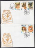 1998-FDC-22 CUBA. FDC. 1998. PERROS DE RAZA. DOGS. BRACO. CHIHUAHUA. BEAGLE. CHOU CHOW. - FDC