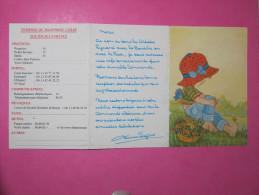 Petit Calendrier 1992 - Les Artistes Peignant Avec La Bouche Ou Avec Le Pied - Calendars