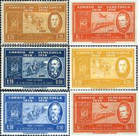 Ref. 275461 * HINGED *  - VENEZUELA . 1959. CENTENARY OF THE VENEZUELAN STAMP. CENTENARIO DEL SELLO VENEZOLANO - Venezuela