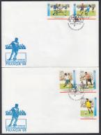 1998-FDC-26 CUBA. FDC. 1998. COPA MUNDIAL DE FUTBOL. FRANCIA. FRANCE. SOCCER WORLD CUP. SPORTS. GAMES. - FDC