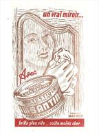 Buvard LUISANTE Encaustique Luisante Un Vrai Miroir, Brille Plus Vite, Coûte Moins Cher Produit Lion Noir - Pulizia