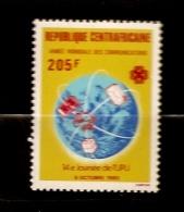Centrafrique 1983 N° 591 ** UPU, Union Postale Universelle, Colis, Lettre, Philatélie, Indien, Ronde, Espace, Terre - Repubblica Centroafricana