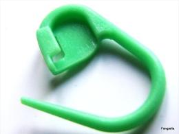 10 Marqueurs De Maille Vert Pour Tricot, Crochet Ou Déco Cadeaux Scrapbooking  Adorables Mini-épingles En Plastique Vert - Scrapbooking