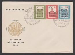 Germany,1962,Leipziger.... FDC. - [6] Democratic Republic