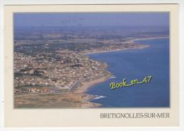 {36846} 85 Vendée Brétignolles Sur Mer , Vue Générale Aérienne - Bretignolles Sur Mer