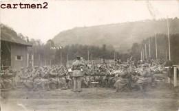2 CARTE PHOTO : COBLENCE COLBENZ FANFARE MILITAIRE MUSIQUE MILITAIRE GUERRE SOLDAT 1923 - Guerre 1914-18