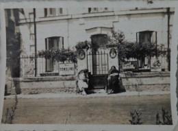37 SAINT ETIENNE DE CHIGNY PHOTO MAISON GARAGE BELLES PLAQUE EMAILLEES 1939 BIS - Lieux