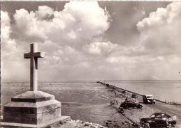 ILE DE NOIRMOUTIER: Passage Du Gois, à Marée Basse (voitures Anciennes) - Ile De Noirmoutier