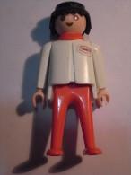 1 FIGURINE FIGURE DOLL PUPPET DUMMY TOY IMAGE POUPÉE - MAN TEXACO PLAYMOBIL GEOBRA 1974 - Playmobil