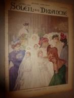 1899 SOLEIL Du DIMANCHE:Aquarelle De Zier;BALZAC (documentaire+++);Châteaux (Saché,Candé,La Chevrière,Valesne;Baudelaire - Journaux - Quotidiens
