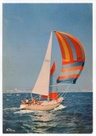 Bateau--Bords De Mer--Voilier (animée)  Cpsm 15 X 10  N° 0043 éd Combier--Cliché Rémy Poinot - Sailing Vessels