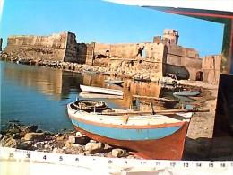 CROTONE LE CASTELLA IL CASTELLO  PRIMA DEL RESTAURO   N1975 ES15708 - Crotone