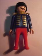 1 FIGURINE FIGURE DOLL PUPPET DUMMY TOY IMAGE POUPÉE - MAN MUSTACHE SUITE PLAYMOBIL GEOBRA 1974 - Playmobil
