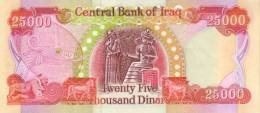 IRAQ P.  96d 25000 D 2010 UNC - Iraq
