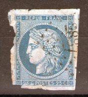 N° 4° _ 2° Choix_PC 2887=SEURRE_cote 60.00 - 1849-1850 Cérès