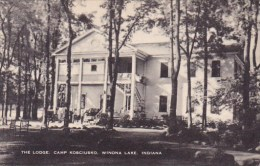 The Lodge Camp Kosciusko Winona Lake Indiana Artvue - Scouting
