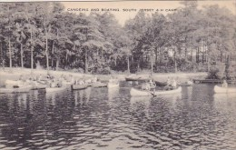 Canoeing And Boating South Jersey 4 H Camp Artvue - Scouting