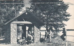 The Pergola Overlooking Whitefish Lake Father Foley Camp Pine River Minnesota Artvue - Scouting