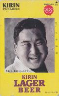 Télécarte Japon / 110-011 - Alcool - BIERE KIRIN - JEUX OLYMPIQUES - BEER Japan Phonecard - BIER TK - 698 - Jeux Olympiques