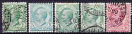 ITALIE 1906 YT N° 76 Et 77 Obl. - 1900-44 Victor Emmanuel III