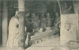 78 - MANTES-LIMAY - Ermitage Saint-Sauveur, Intérieur De La Chapelle, La Mise Au Tombeau - Mantes La Jolie