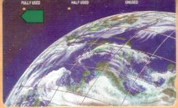 Rwanda - RWA-02, The Earth, Anritsu, 50$, 5000ex, 9/94, Used