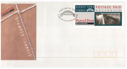 (198) Australia FDC Cover - 1991 - Accross Town Parcel Post - Sydney Harbour Bridge - Ersttagsbelege (FDC)
