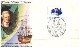(811) Australia FDC Cover - 1981 - Cooktown - Captain Cook - FDC