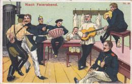 1910 D. Reich, MILITARIA EF. BESSERE Karte, gelaufen. MK