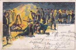 1901 D. Reich, MILITARIA EF. BESSERE Karte Neum�nster/Alwesterhude. MK