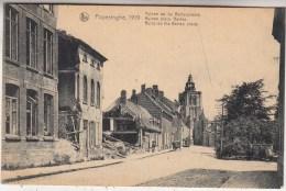 Poperinghe, 1919 - Poperinge - Puinen op de Bertenplaats - Uitg. Sansen-Vanneste, Poperinghe/Nels
