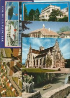 Cp , 01 , L'AIN , Bourg En Bresse , Gex , Divonne , Chatillon Sur Charonne , Vernoux..., LOT DE 9 CP DE L'AIN - Cartoline