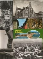 Cp , 01 , L'AIN , Bourg En Bresse , Pérouges, Divonne , THOISSEY , LOT DE 9 CP DE L'AIN - Postcards