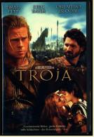 VHS Video  -  Troja  -  Mit :  Brad Pitt, Eric Bana, Orlando Bloom  -  Von 2004 - Action & Abenteuer