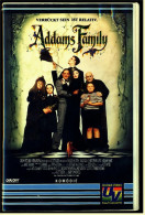 VHS Video  -  Die Addams Family ; Verrückt Sein Ist Relativ.  -  Mit : Victoria Hall, Jimmy Ross  -  Von 1994 - Kinder & Familie