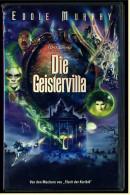 VHS Video  -  Die Geistervilla  -  Mit : Eddie Murphy, Terence Stamp, Jennifer Tilly, Wallace Shawn  -  Von 2004 - Horreur