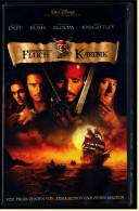 VHS Video  -  Fluch Der Karibik  -  Mit : Johnny Depp, Geoffrey Rush, Orlando Bloom, Keira Knightley  -  Von 2004 - Action & Abenteuer