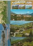 Cp , 05 , Hautes Alpes, , Serre Ponçon, Embrun, Chorges, St Léger Les Mélezes, Gap, Les Orres... LOT DE 9 CP Du 05 - Cartes Postales
