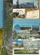 Cp , 05 , Hautes Alpes, Ailefroide, Le GR 58 , Villeneuve La Salle, St Veran, Vallée De La Clarée... LOT DE 9 CP Du 05 - Postcards