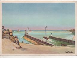 Nr. 4366,  Hafenausfahrt Von Boulogne Sur Mer - Nord-Pas-de-Calais