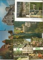 Cp , 03 , ALLIER, Chatel Montagne , Bourbon L'Archambault, Nerie Les Bains, St Pourçain Sur Besbre... ,LOT DE 9 CP Du 03 - Postcards