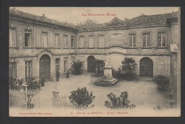 DF / 81 TARN / SORÈZE / ECOLE DE SORÈZE / COUR D'ENTRÉE / CIRCULÉE EN 1912 - France