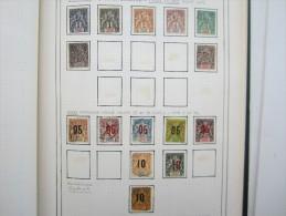 VEND BEAU LOT DE TIMBRES DE GRANDE COMORE SUR 1 F.A. !!!! - Grote Komoren (1897-1912)