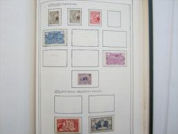 VEND BEAU LOT DE TIMBRES DE GUYANE SUR 8 F.A. !!!! (b) - Guyane Française (1886-1949)