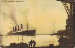 RmS  Mauretania   Gunard Line   1929 - Paquebots